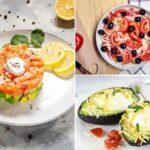 Ideas de recetas keto para la semana